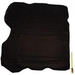 Croupon entier cuir Vachette Marron Noir