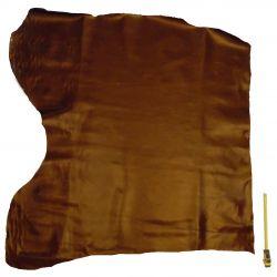 Croupon entier cuir Vachette Or