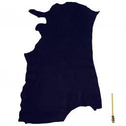 Peau de Vachette Bleu foncé
