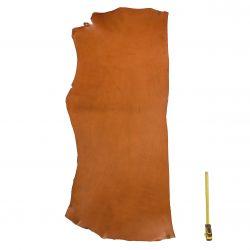 Collet Vachette ép. 3 mm tannage végétal marron Tan