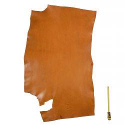 Collet Vachette ép. 2,4 mm tannage végétal marron Tan