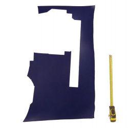 Peau Vachette tannage végétal ép. 3mm Bleu