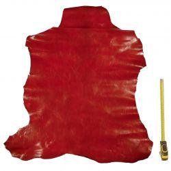 Peau entière de Chèvre Rouge