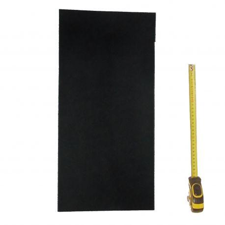 Peau Vachette tannage végétal ép. 3,3 mm Noir