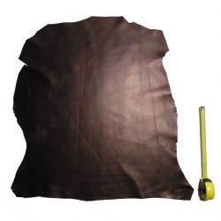 Peau d'Agneau Noir Métallisé