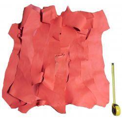 Chutes de cuir Chèvre rose
