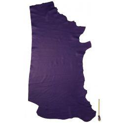 Peau de cuir Vachette grainée Violette