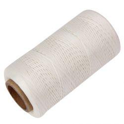 Bobine de fil ciré Blanc 260 m