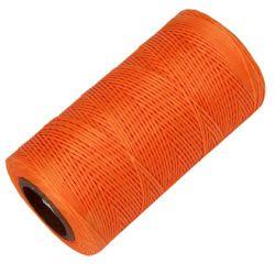 Bobine de fil ciré Orange 260 m