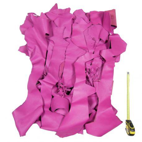 Chutes de cuir Chèvre Violette