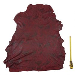 Peau entière d'Agneau Rouge