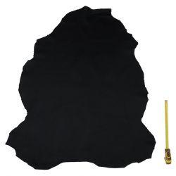 Peau Mouton Basane Noir