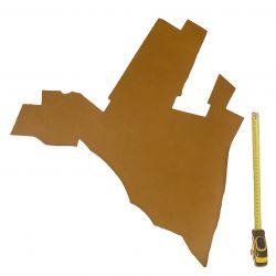 Peau vachette tannage végétal marron ép. 1,8 mm