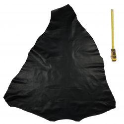 Peau de cuir Kangourou Noir