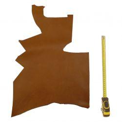 Peau de cuir Veau Marron Gold ép. 1,4mm