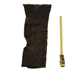 Peau de Serpent Noire dim. 130 x 27 cm