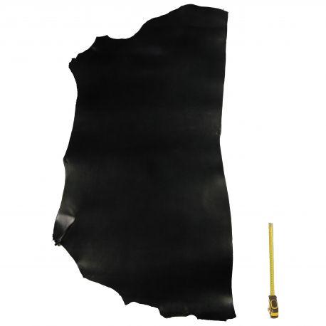 Collet Vachette ép. 2,6 mm Noir tannage végétal