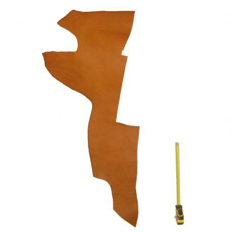 Peau de cuir Veau Marron Gold ép. 1,6 mm