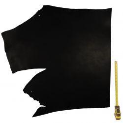Collet Vachette ép. 3 mm tannage végétal Noir