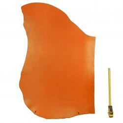 Collet Vachette ép. 3,2 mm tannage végétal Marron